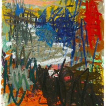Teoksen nimi: Hetki tässä, 2008, öljy kankaalle, 120×100