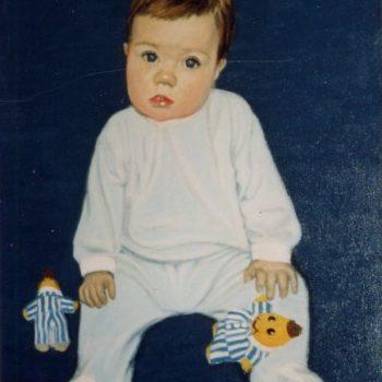 Teoksen nimi: Pikkupojan muotokuva 1998