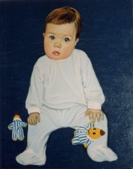 Pikkupojan muotokuva 1998