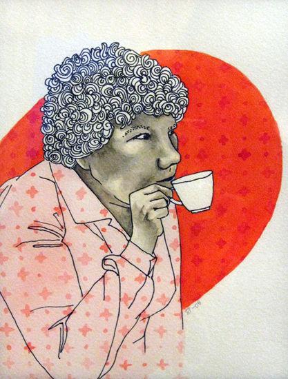 Juodaas kaffet # 3    , sekatekniikka