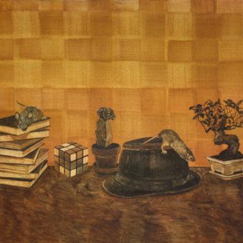 Teoksen nimi: Pöydällä, 2010