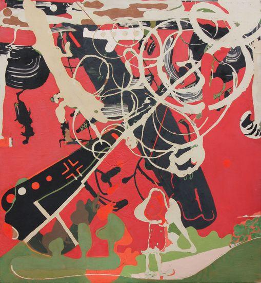Siivilläsi peitä meitä,2012,183 X 170 cm,akryyli kankaalle