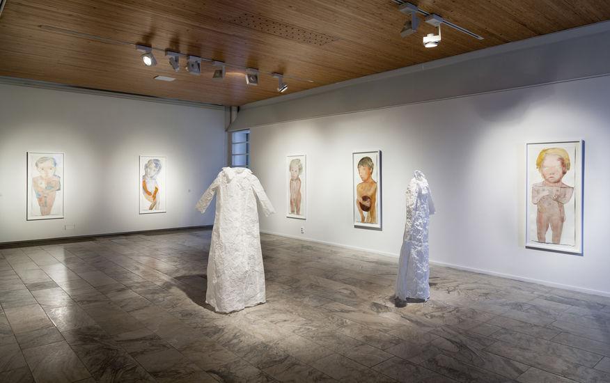 Siirtymiä 2009 Rovaniemen taidmuseossa 2016
