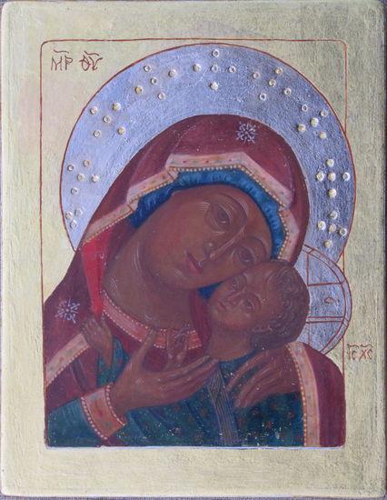 Eleusa, ( Hellyyden Jumalanäiti)