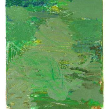 Teoksen nimi: Ukkosen poika, 2008, öljy kankaalle, 60×47