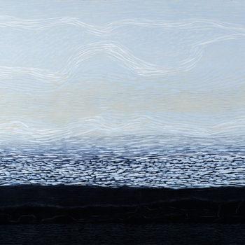 Teoksen nimi: Pilvet joen yllä
