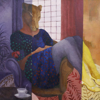 Name of the work: The Yellow Shoes