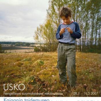 Teoksen nimi: Poika, sarjasta Ja minä käänsin sydämeni, 2005