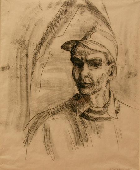 Nuori taiteilija, omakuva, 1965