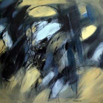 Teoksen nimi: Öljyväri kankaalle, 72×116 cm