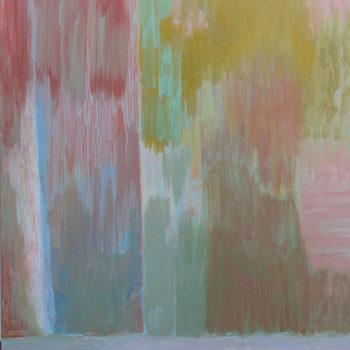 Teoksen nimi: Järjestys – Order – Ordine, 2014, acrylic painting, 120 x 90 cm