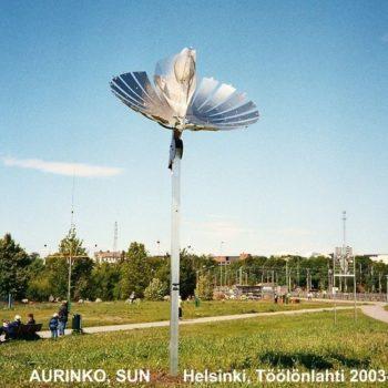 Teoksen nimi: AURINKO, SUN