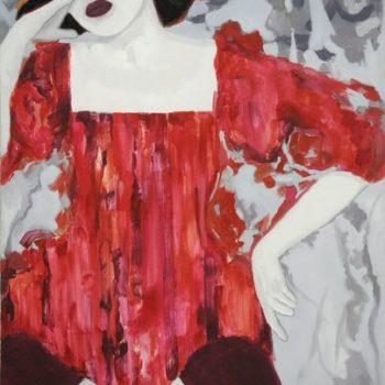 Teoksen nimi: Punainen puku