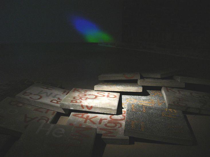 Matter&Light 2008 / Part 1;Videoinstallation in 3 parts/Amos Anderson Art Museum, Helsinki
