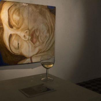 Name of the work: Nattbrev -näyttelykuva, B-Galleria
