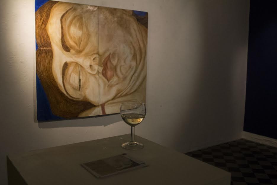 Nattbrev -näyttelykuva, B-Galleria