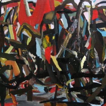 Teoksen nimi: Vuoristokylä, 2009
