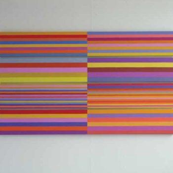 Teoksen nimi: Aurinkomaisema, 2008