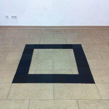 Teoksen nimi: Square nro 8, Galerie Pleiku, Berliini, 2016