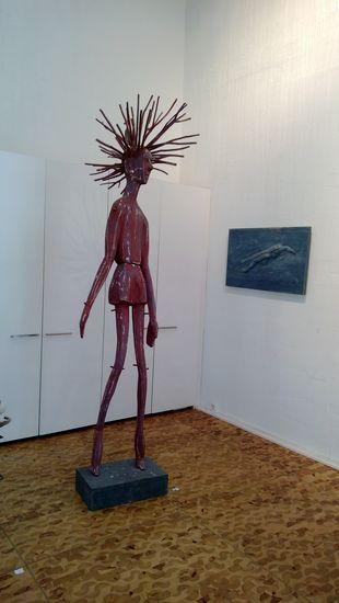 Jöröjukka, 2012, puuveistos, korkeus 300 cm