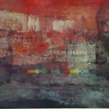 Teoksen nimi: Uppoava kaupunki  2011