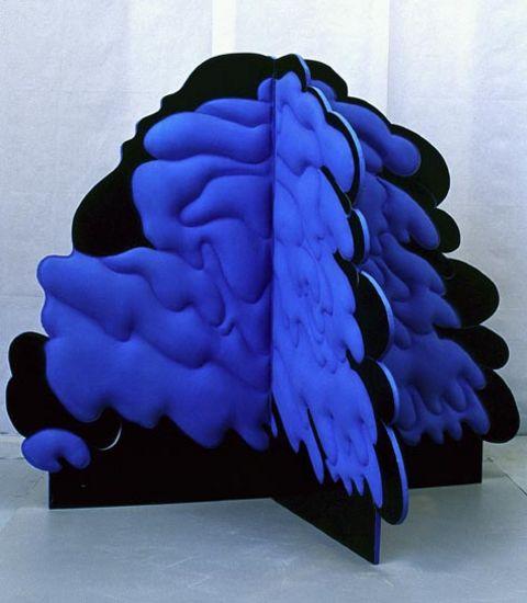 Sininen pensas 150x150x126 cm