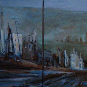 Teoksen nimi: Poltettu kaupunki, 2010