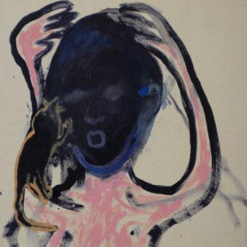 Teoksen nimi: Myyränaama // Mole face (2011)