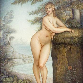 Teoksen nimi: Afrodite, merestä syntynyt