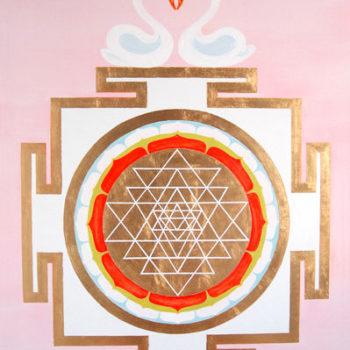 Teoksen nimi: Tripura Sundari Yantra