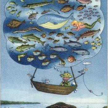 Teoksen nimi: Kalastajan unelma