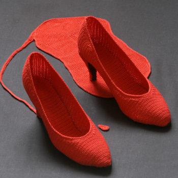 Teoksen nimi: Punaiset kengät