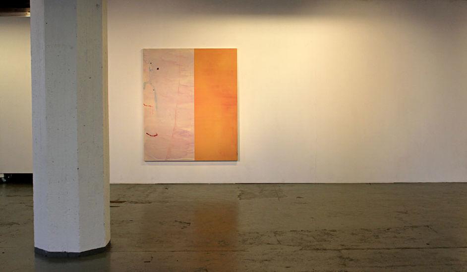 Kuva näyttelystä Maalauksia / Paintings, Galleria Huuto Jätkäsaari, Jätkä 2, 2016