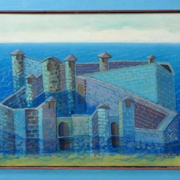 Name of the work: Linna merellä 1998