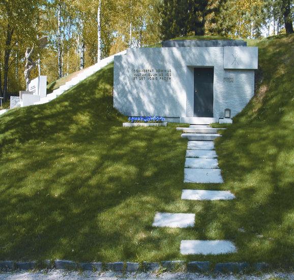 Niemistön hautakammio 1999, Hietaniemen hautausmaa, Helsinki