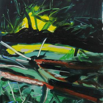 Teoksen nimi: Metsä yöllä 3