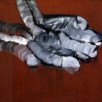Teoksen nimi: Tempera kankaalle 120×150 cm