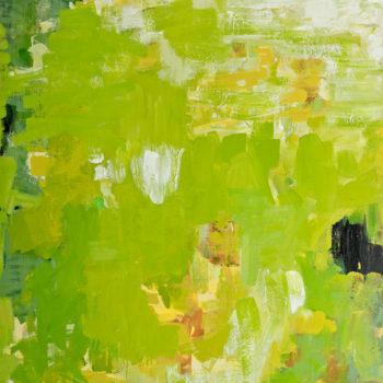 Teoksen nimi: Maalaus, 140x130cm, öljy kankaalle, 2011