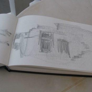 Teoksen nimi: Knossos – sarja, 2017 Κρήτη