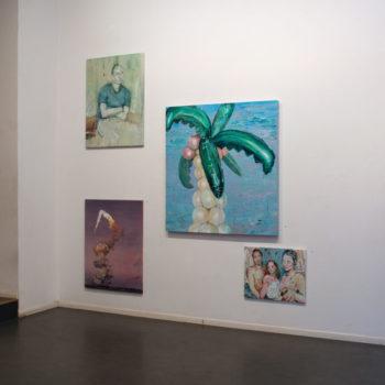Teoksen nimi: Yksityisnäyttely, Galleria Huuto-Uudenmaankatu, Helsinki 2010