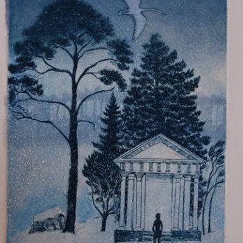 Teoksen nimi: Pyhäkkö, 2011