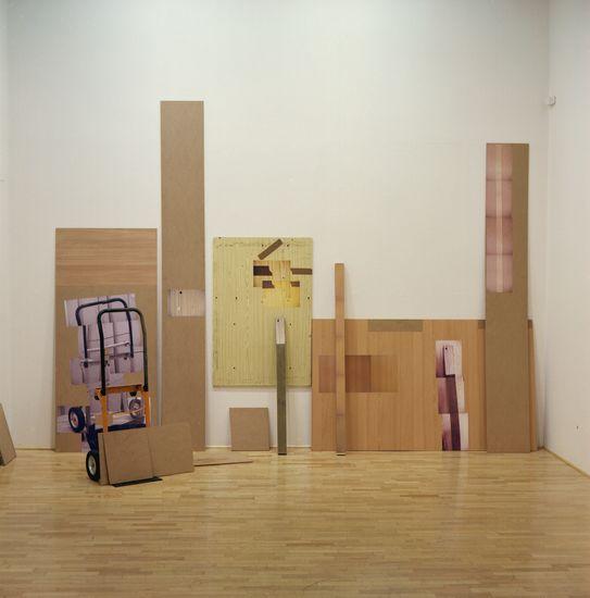TYÖMAA   puulevyt, mustesuihkutuloste (2006)