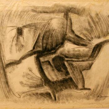 Teoksen nimi: Uurteita kalliossa, 1967