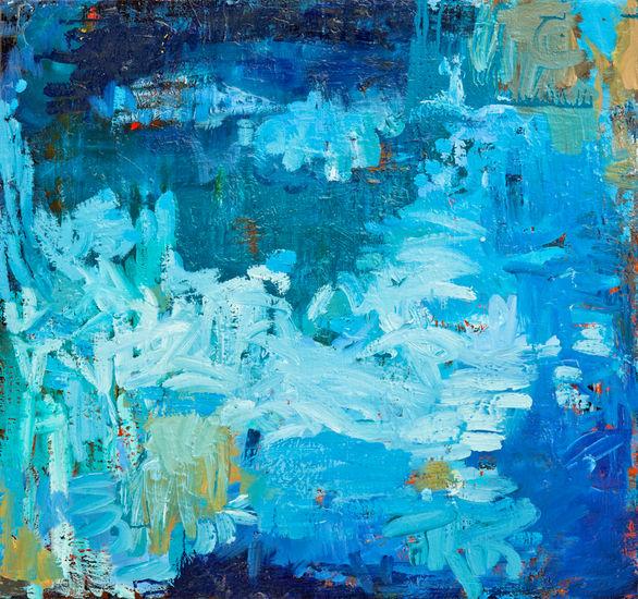 Maalaus, 75x80cm, öljy kankaalle, 2010