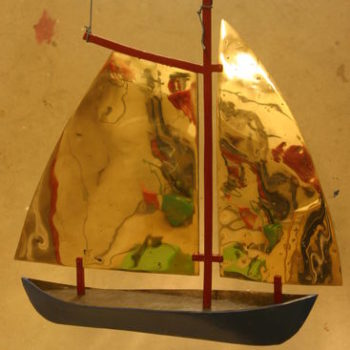 Teoksen nimi: Punamastoinen purjevene