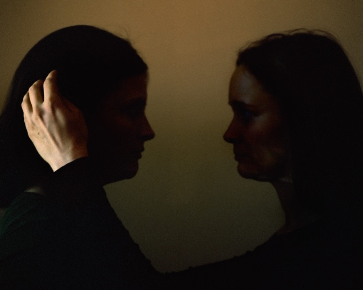 Two women, from the series A Shadow at the Edge of Every Moment of the Day
