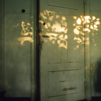 Teoksen nimi: Untitled (the door) from the series A Shadow at the Edge of Every Moment of the Day