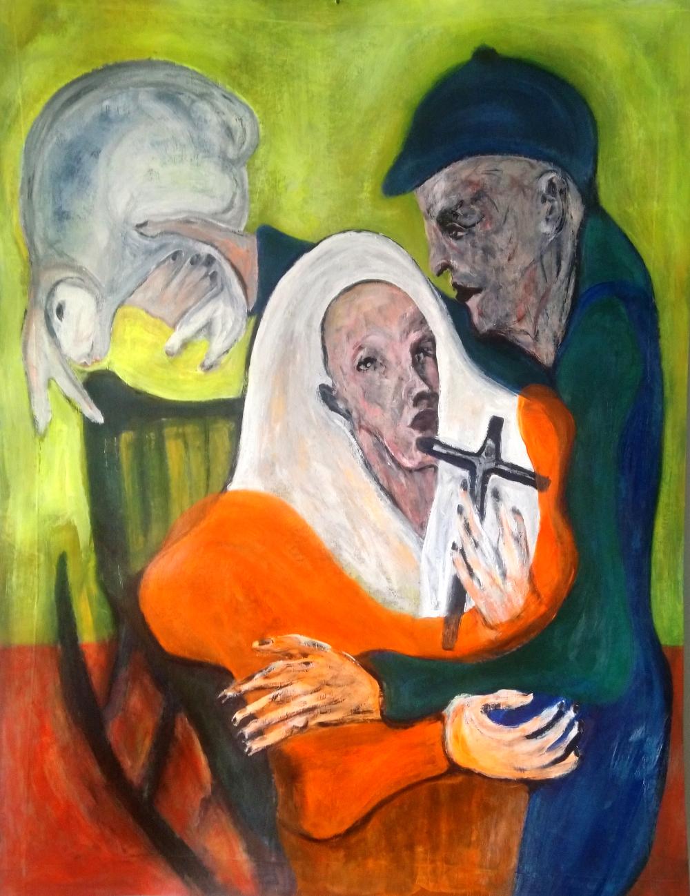 maalaus,Pyhä perhe
