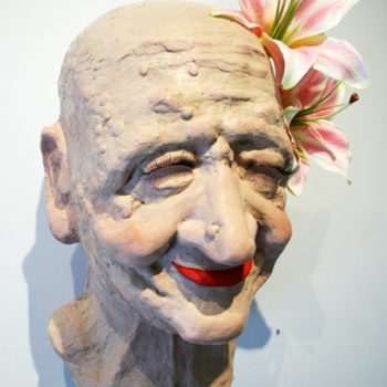 "Name of the work: ""Make Up Head"" 2011"
