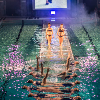"Name of the work: ""Monokini 2.o Charity Catwalk Show"", Yrjönkadun uimahalli 2015"
